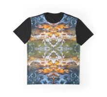 Waves On The Rocks Graphic T-Shirt