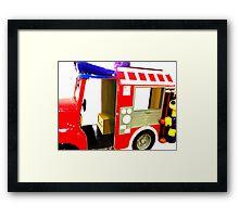 Car, Jeepney Framed Print