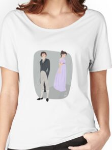 Pride and prejudice | Elizabeth Bennet & Mr Darcy Women's Relaxed Fit T-Shirt