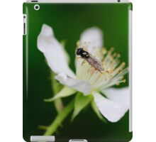 White Flower iPad Case/Skin