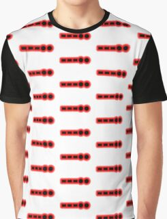 Morse Code Number 8 Graphic T-Shirt