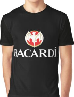 Bacardi Beer Graphic T-Shirt