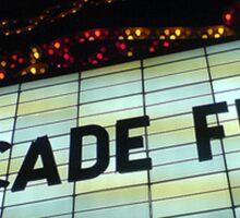Arcade Fire Theater Sticker