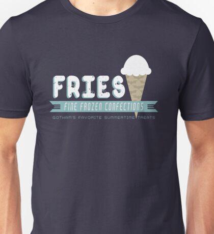 Fries Fine Frozen Confections - Mr. Freeze Unisex T-Shirt