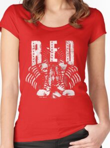 R.E.D Women's Fitted Scoop T-Shirt