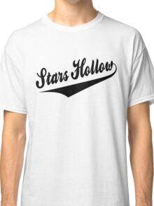 Stars Hollow - Retro Baseball Style, Black Font Classic T-Shirt