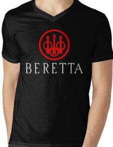 Beretta Gun Second Amandement Mens V-Neck T-Shirt