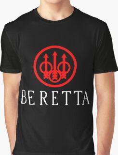Beretta Gun Second Amandement Graphic T-Shirt