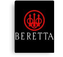 Beretta Gun Second Amandement Canvas Print