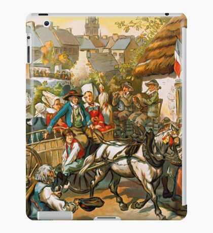 La Bretagne Pittoresque, French Travel Poster iPad Case/Skin