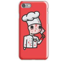 bloody chef iPhone Case/Skin