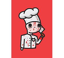 bloody chef Photographic Print