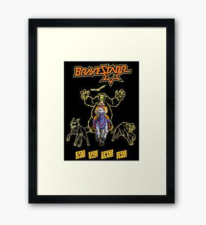 Bravestarr Framed Print