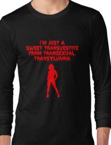 Rocky Horror - Sweet Transvestite Long Sleeve T-Shirt