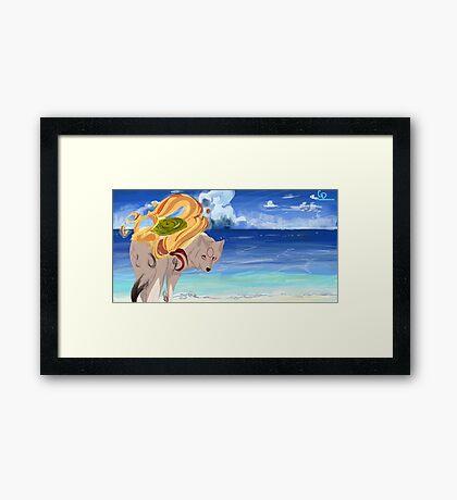 Ryoshima Coast Framed Print
