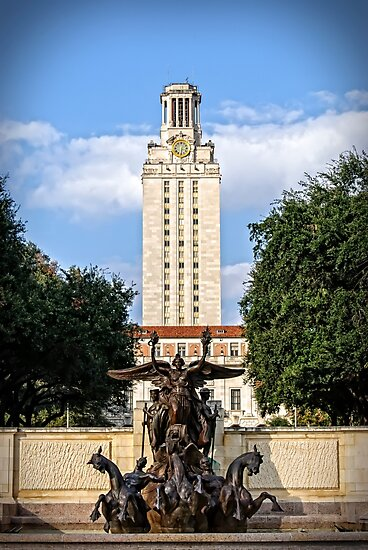 The University of Texas Tower by Charles Dobbs Photography