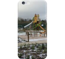 Empty Winter Playground iPhone Case/Skin