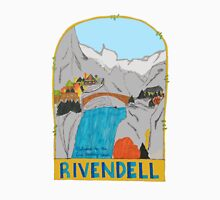 Rivendell Retro Travel Poster Unisex T-Shirt