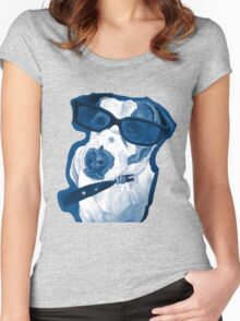 Rocking Jack Russell Women's Fitted Scoop T-Shirt