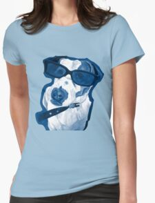Rocking Jack Russell Womens Fitted T-Shirt