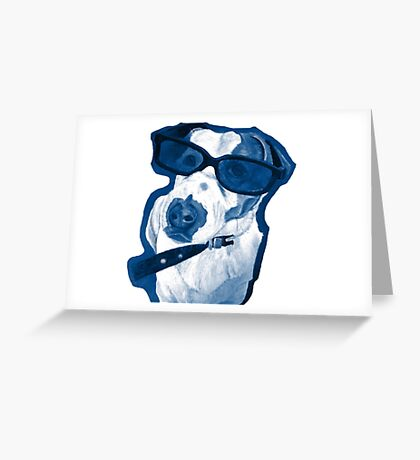 Rocking Jack Russell Greeting Card