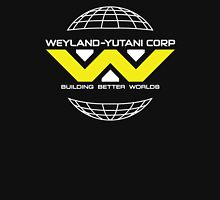 Weyland Yutani - Bright Yellow Logo Womens Fitted T-Shirt