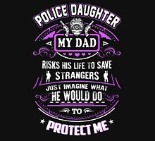 POLICE DAUGHTER Womens Fitted T-Shirt