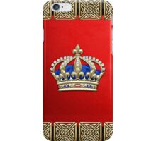 Royal Crown of France  iPhone Case/Skin