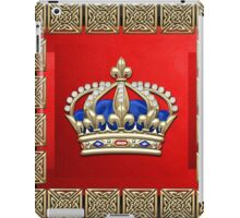 Royal Crown of France  iPad Case/Skin