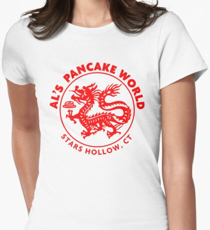 Al's Pancake World Womens Fitted T-Shirt