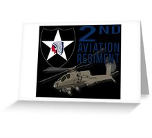 2nd Aviation Regiment Greeting Card