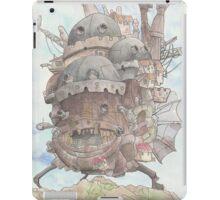 Howl's Moving Castle iPad Case/Skin