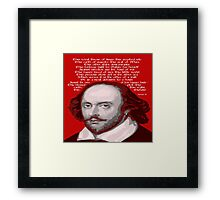 SHAKESPEARE This England Framed Print