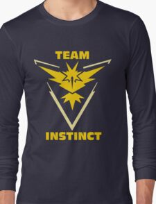 Pokemon Go | Team Instinct Long Sleeve T-Shirt