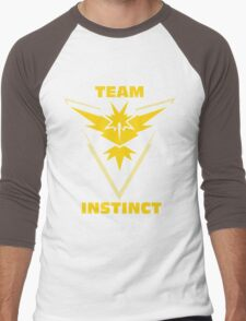 Pokemon Go | Team Instinct Men's Baseball ¾ T-Shirt