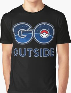 Pokemon Go Outside Graphic T-Shirt