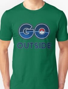 Pokemon Go Outside Unisex T-Shirt