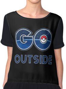 Pokemon Go Outside Chiffon Top