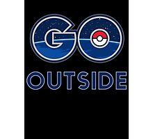 Pokemon Go Outside Photographic Print