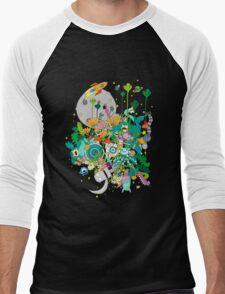 Imaginary Land Men's Baseball ¾ T-Shirt
