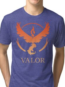 TEAM VALOR - POKEMON GO TSHIRT Tri-blend T-Shirt