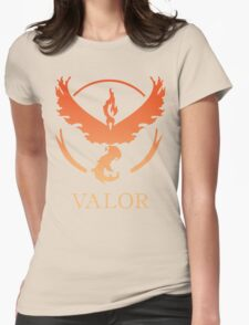 TEAM VALOR - POKEMON GO TSHIRT Womens Fitted T-Shirt