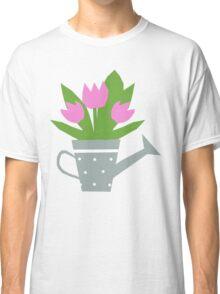 Tulips Tee, Throw Pillows, Tote Bag Classic T-Shirt