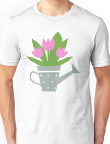 Tulips Tee, Throw Pillows, Tote Bag Unisex T-Shirt