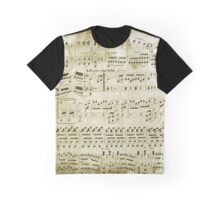 SHEET MUSIC Graphic T-Shirt