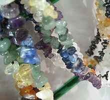 Precious Stone Necklaces by lemurnade