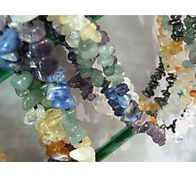 Precious Stone Necklaces Photographic Print