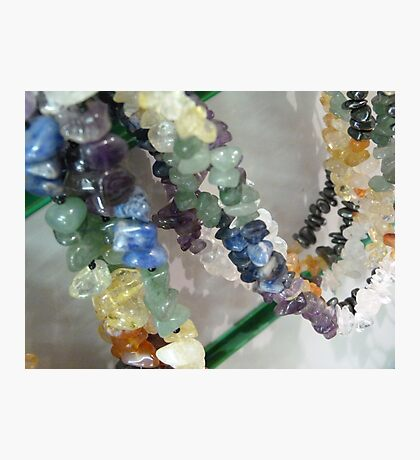Precious Stone Necklaces Photographic Print