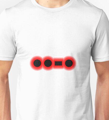 Morse Code Letter F Unisex T-Shirt