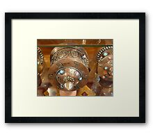 Pink Lotus Framed Print